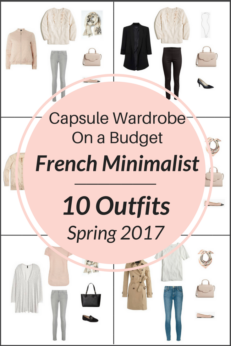 Create A French Minimalist Capsule Wardrobe: 10 Spring