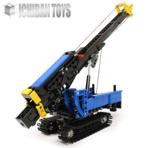 Pile Driving Rig - Custom LEGO Element Kit | 2012 | 351