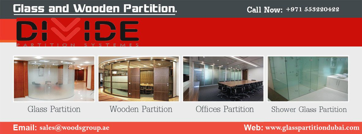 We are best contractor in office glass partition companies