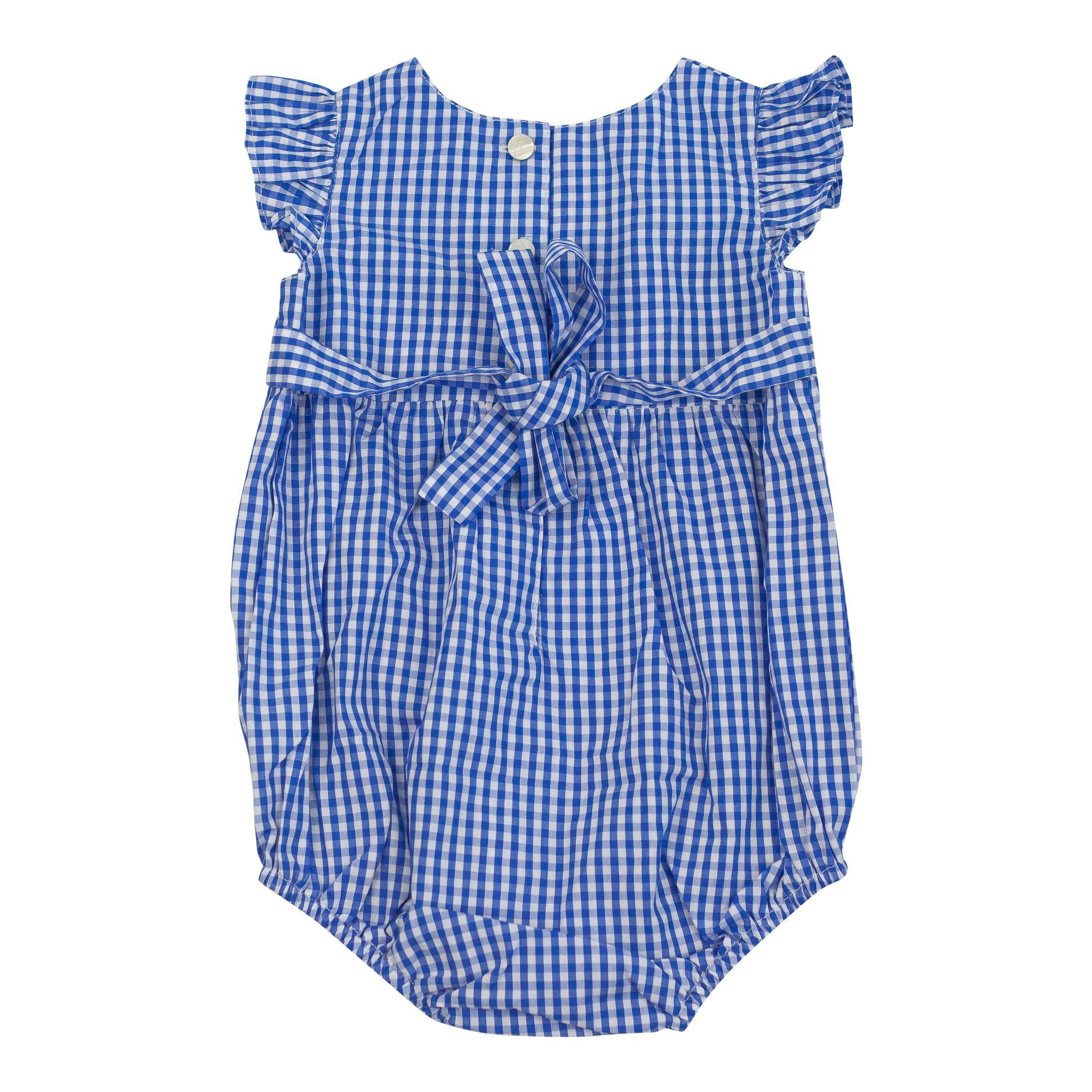 Beatrice Bubble, Blue Gingham Final Gingham, Girl
