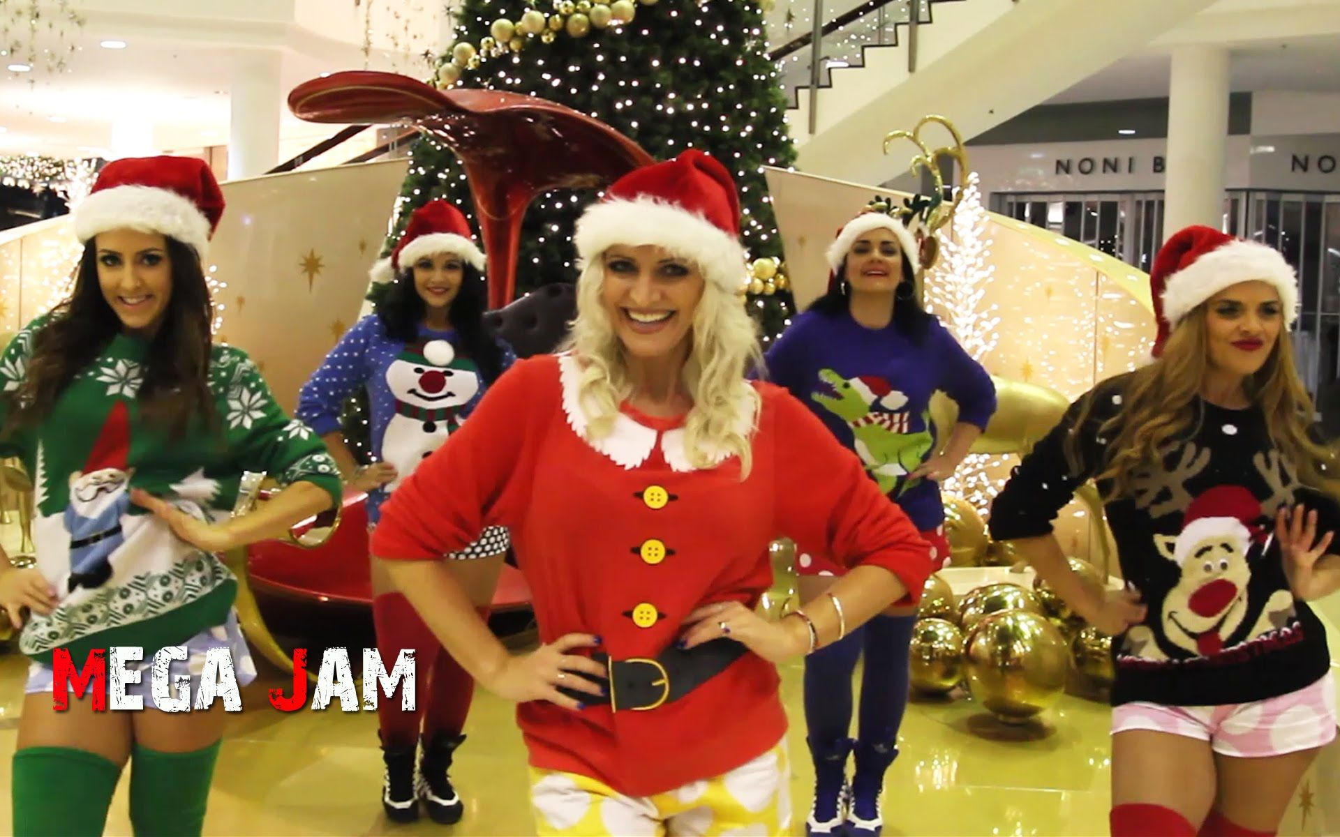 'All I Want For Christmas' Mariah Carey choreography by