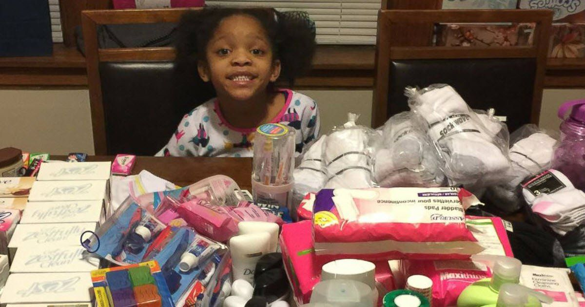 Instead Of Birthday Gifts Or Party 6 Year Old Girl Asks Mother To Help Homeless