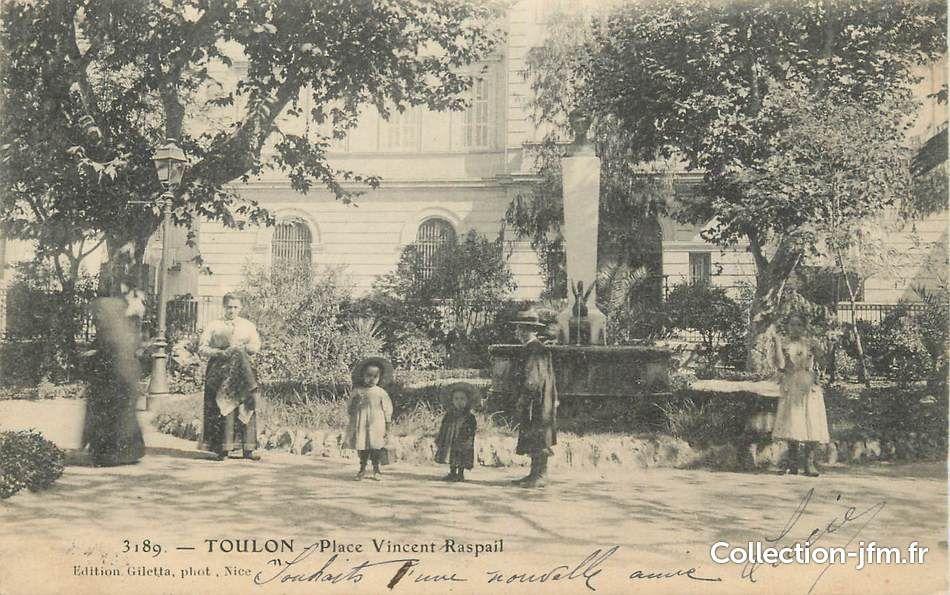 Buste D Hubac Au Dessus De La Fontaine Au Canard Detruite Place Raspail Toulon Carte Postale Ancienne Toulon Carte Postale Vieux Paris