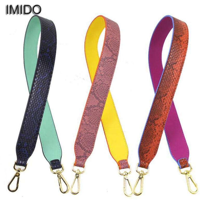 Imido Brand Leather Belt Replacement Bag Strap For Handbags Women Shoulder Accessories Parts Sac Bandouliere 90 Stp012