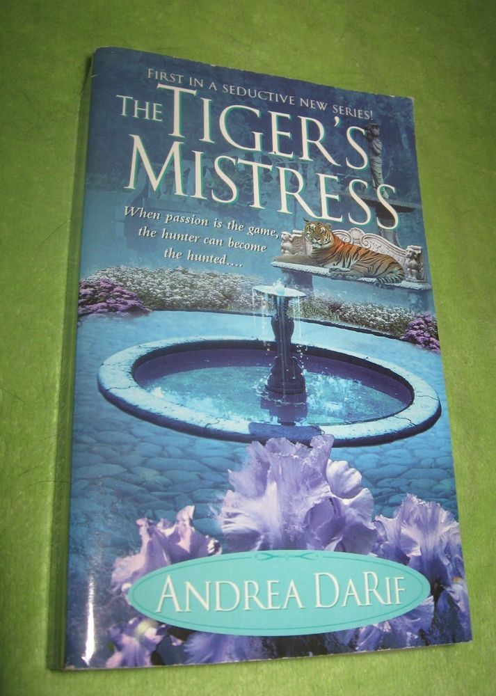 The Tigers Mistress Darif Andrea 2003 New Never Read Stuff To