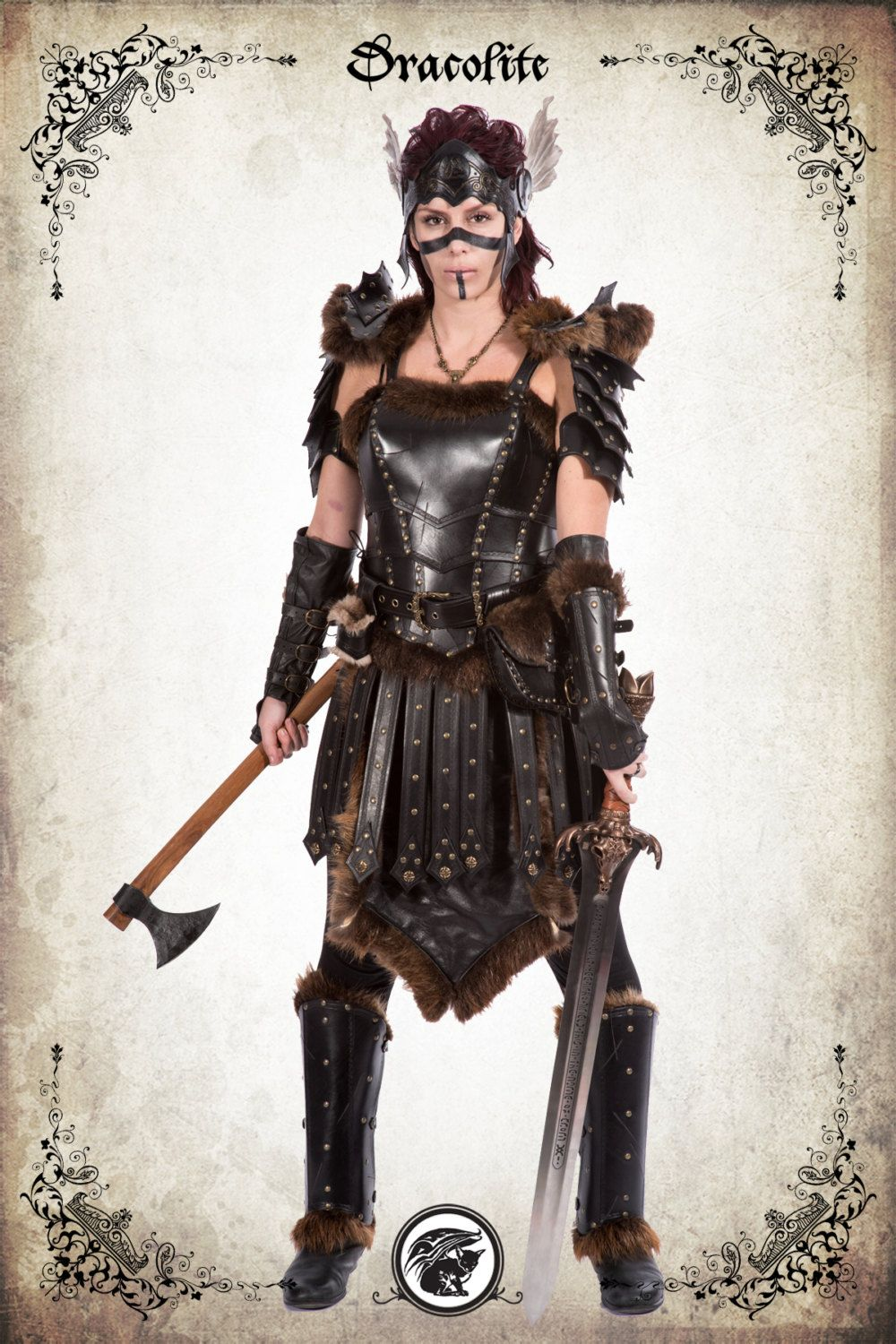 Complete GrandeurArmors Armure Femme Freya Pour Valkyrie Gn Real tBodxQCshr