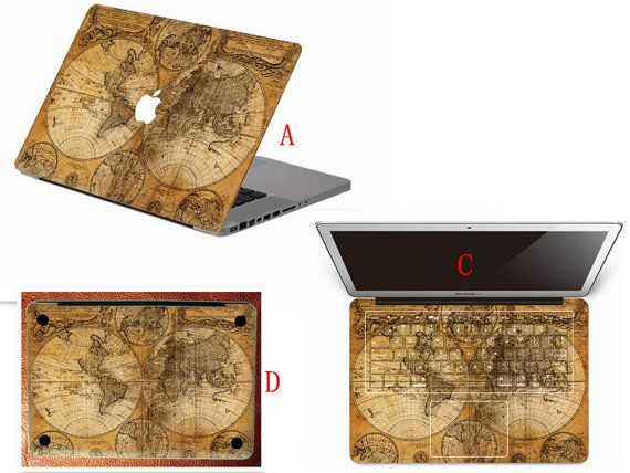 World map keyboard full decal sticker macbook full decals bottom world map keyboard full decal sticker macbook full decals bottom decal keyboard cover gumiabroncs Gallery