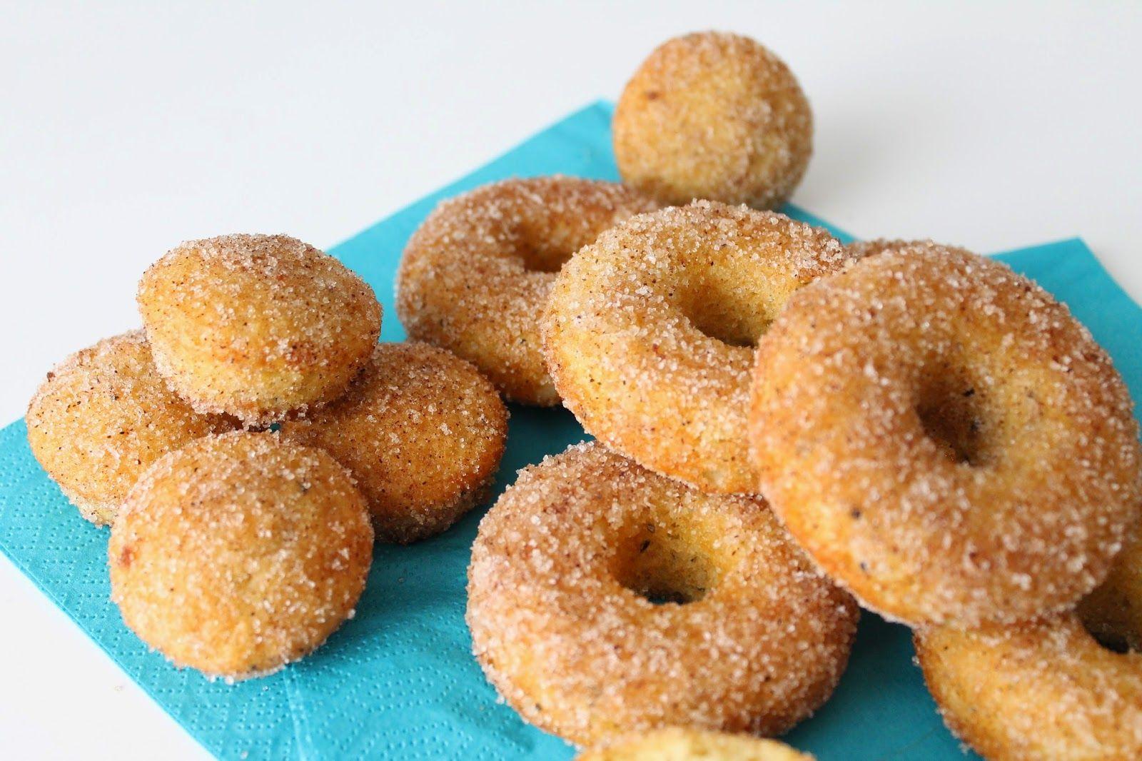 Pienet herkkusuut: Ne parhaat uunissa tehtävät donitsit!