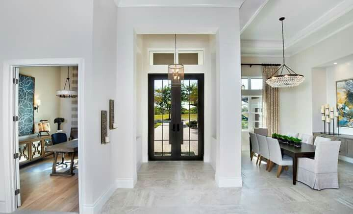 Elegant The Light Colored Was Selected To Be A Quiet Element When You Walk Into  This Gorgeous Stock Development Home. Designed By Beasley U0026 Henley Interior  Design
