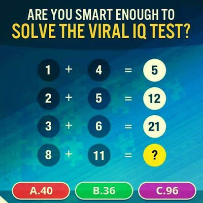Maths Puzzle to test your Brain IQ | akıl oyunları / brain teaser ...