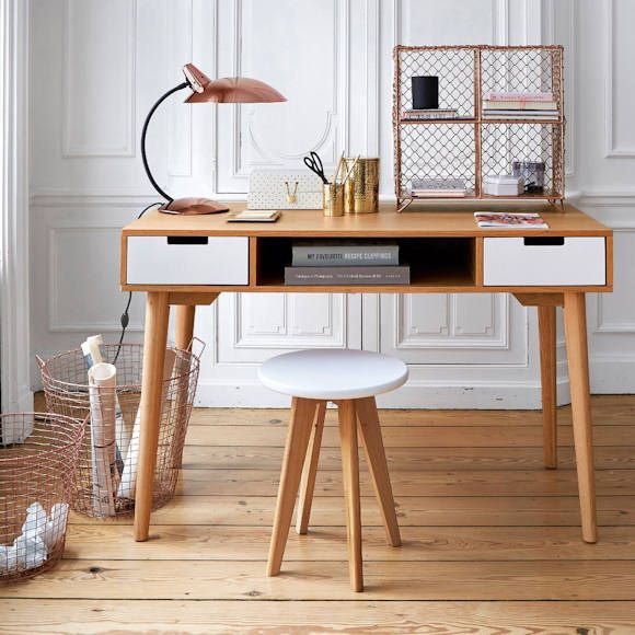 pingl par taaora sur home sweet home pinterest bureau vintage d coration r tro et r tro. Black Bedroom Furniture Sets. Home Design Ideas