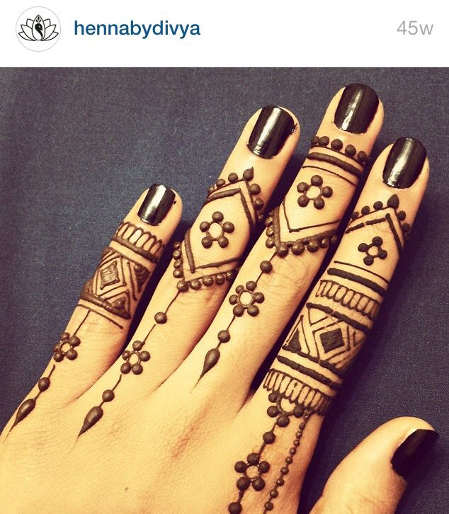 Follow hennabydivya on Instagram!!! Henna mehndi pics are ...