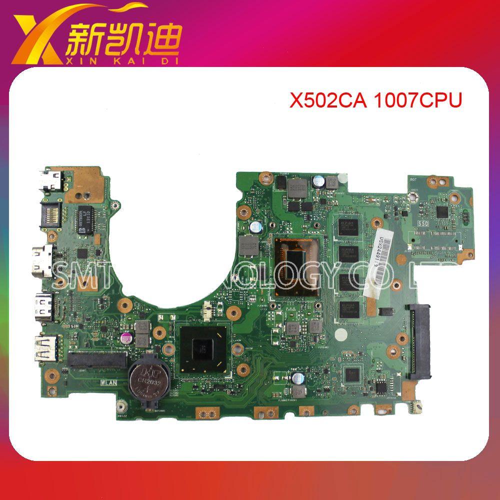 For Asus X502CA laptop X402CA REV2 1 Motherboard 1007cpu