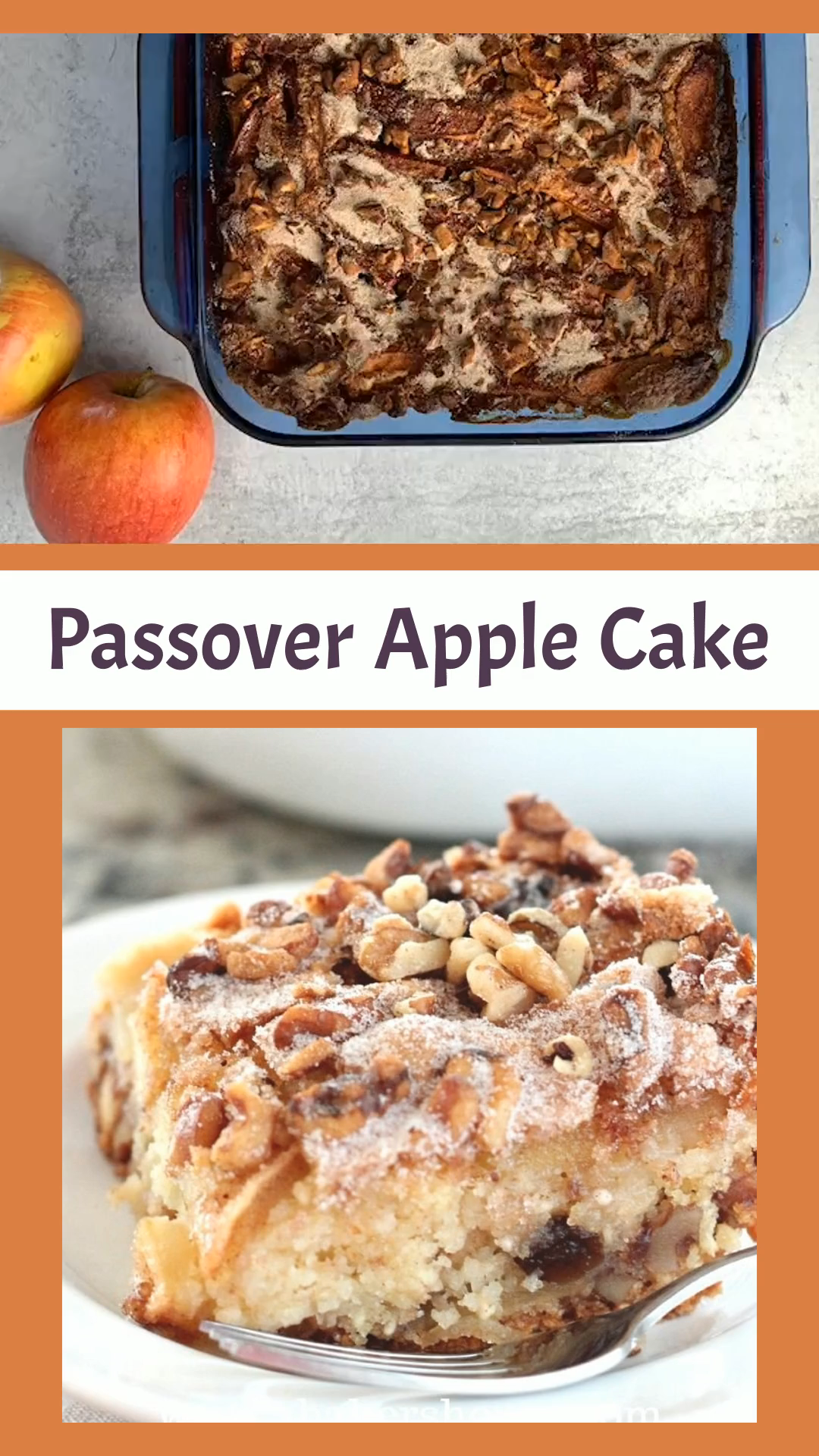 Passover Apple Cake {video}