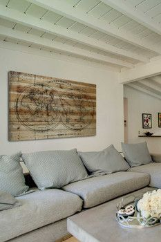 Marmont Hill Inc. Mappe Pine Wood Wall Art