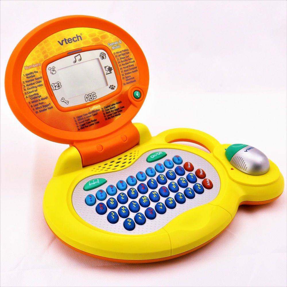Verbazingwekkend VTECH MY LAPTOP WITH MOUSE COMPUTER LEARN LETTERS NUMBERS GAMES TW-39