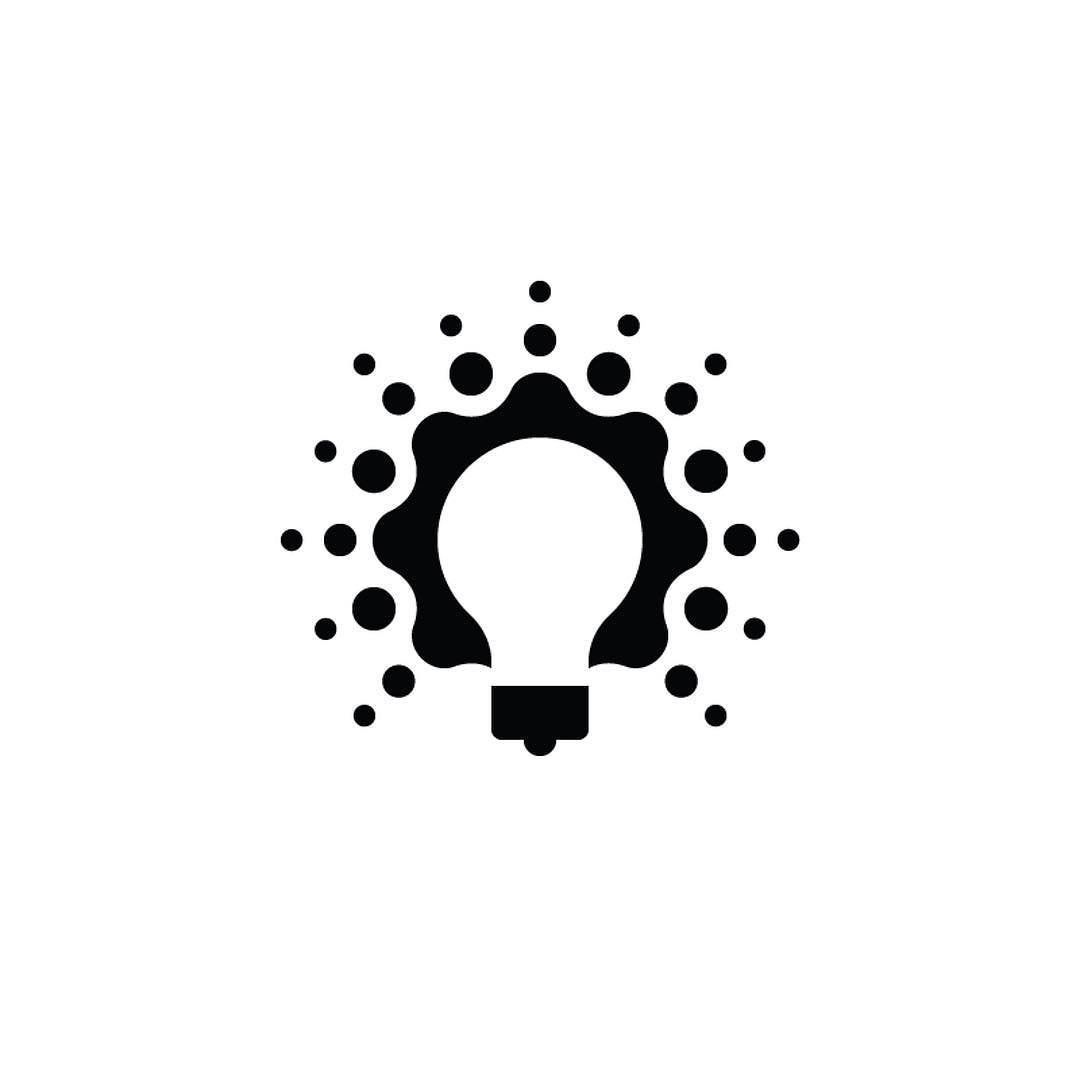 Light Bulb By Scott Lewis Iconifyit By Logoinspirations
