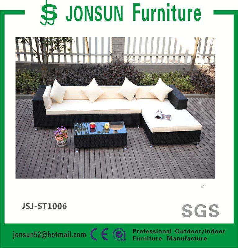 Muebles de mimbre al aire libre muebles de ratán sofá de la esquina ...