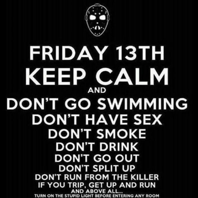 Here Are Some Friday The 13th Memes To Get You Through The Day