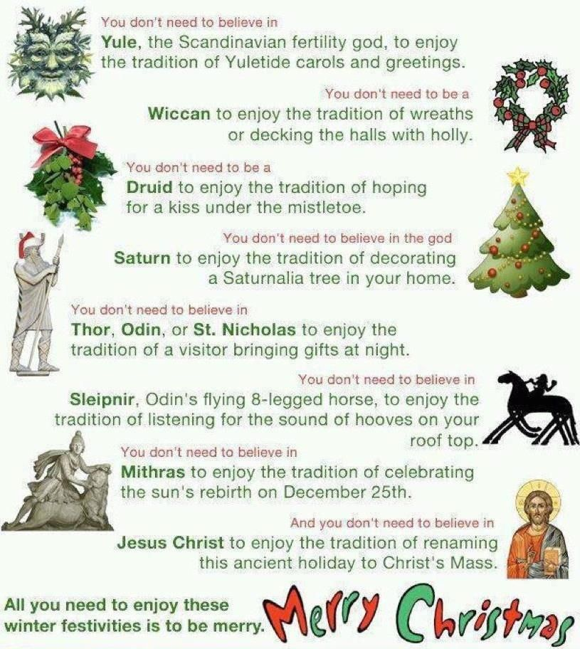 You Donu0027t Need To Believe Inu2026 Zeitgeist Christmas And Intolerance