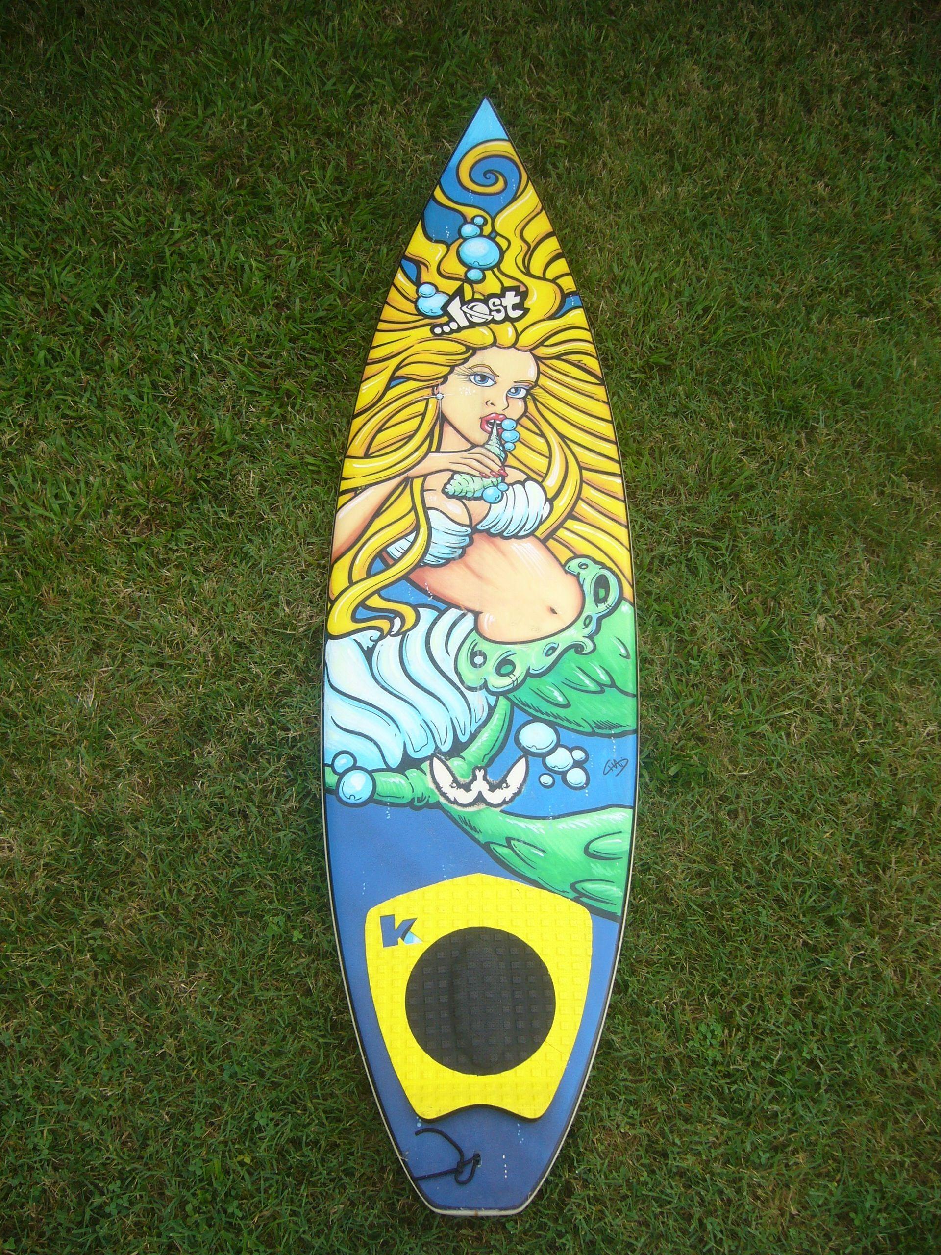 Lost Surfboard Artwork