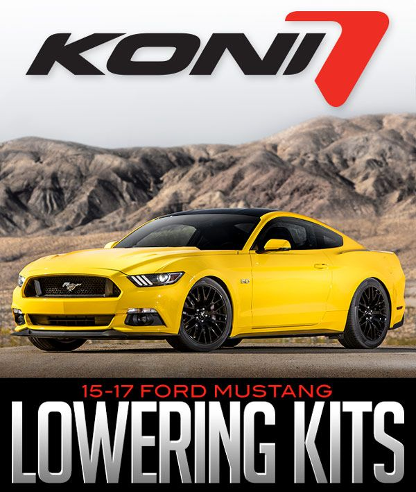 Ford Performance Mustang GT 5.0 V8 Eibach Lowering Spring Kit