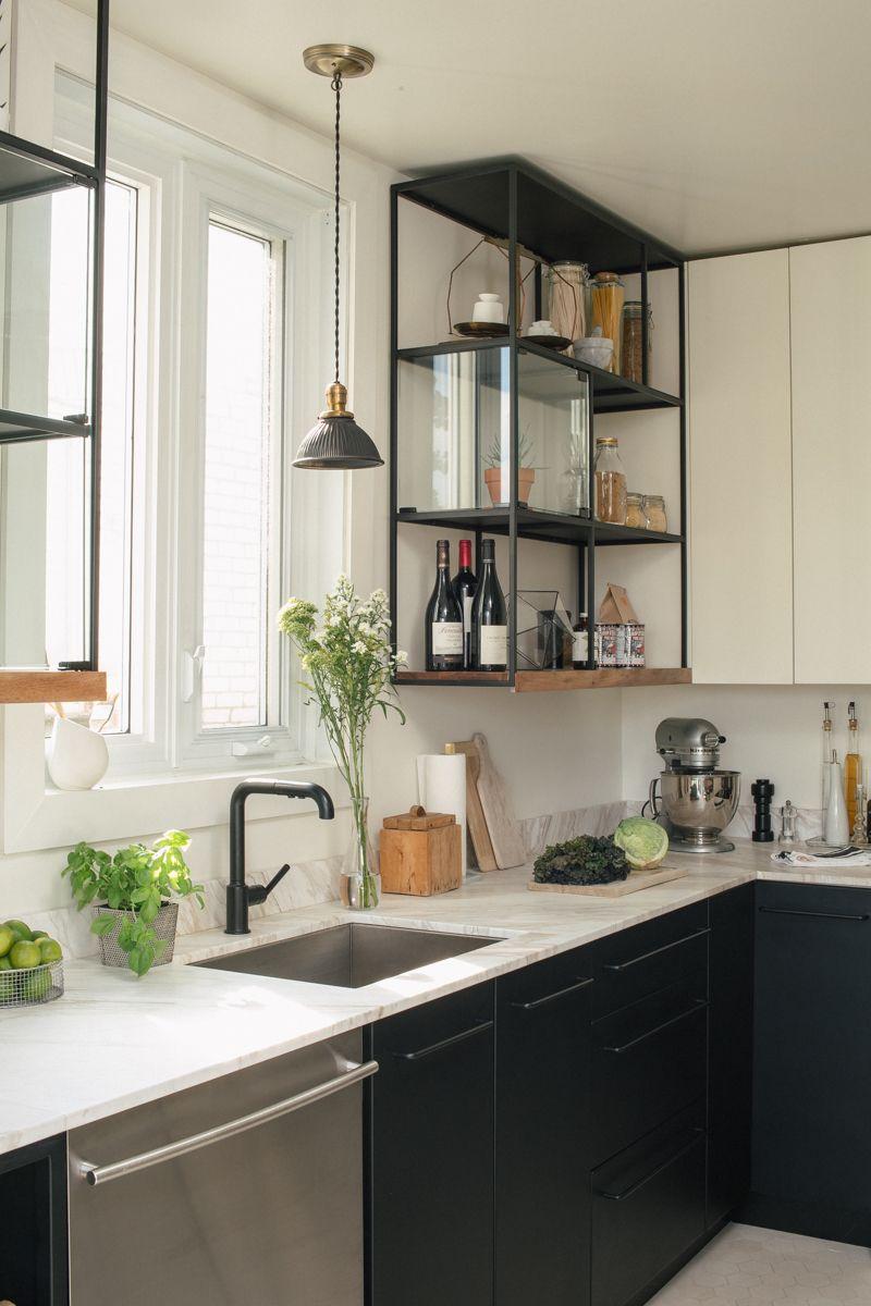 Étagères Avec Rangement Supplémentaire Pour La Cuisine Belle Idée - Promotion cuisiniere pour idees de deco de cuisine