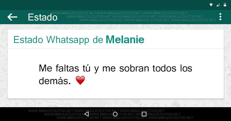 Tu Estado Whatsapp Minijueguitos Net Words Quotes Sayings