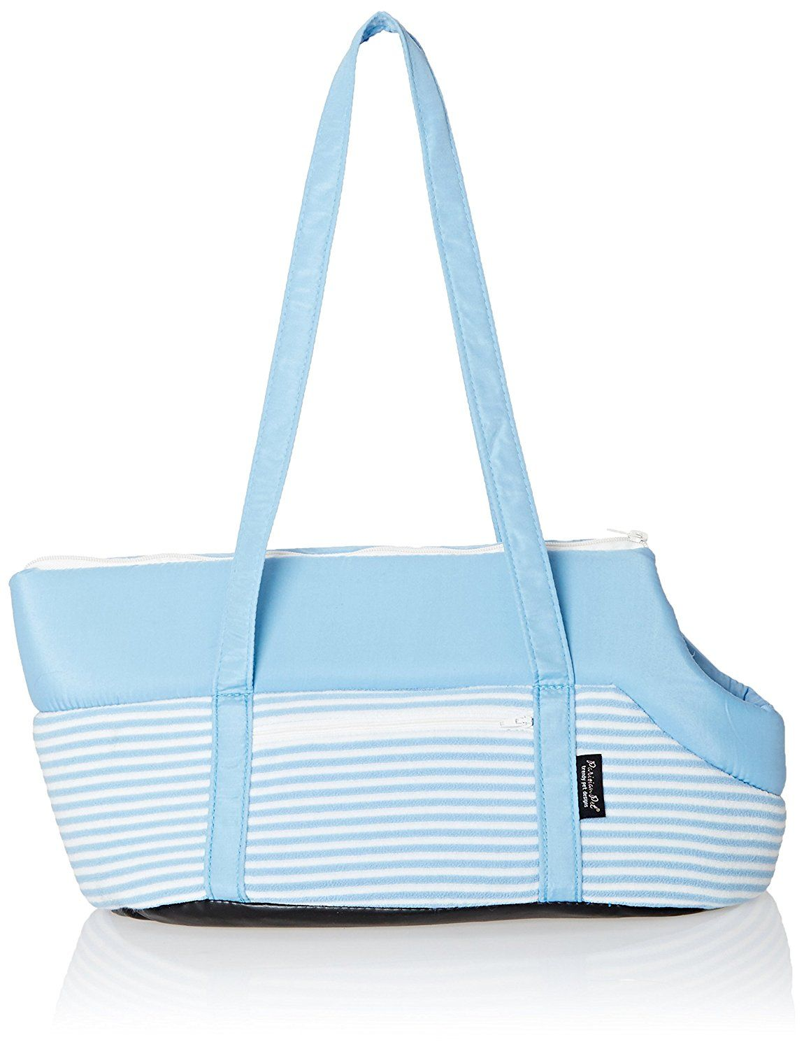 Parisian Pet Malibu Striped Carrier, Blue ** Find out more about the great product at the image link.