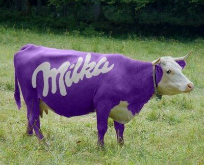Milka Vache Chocolat Animaux Cow Parade Vache