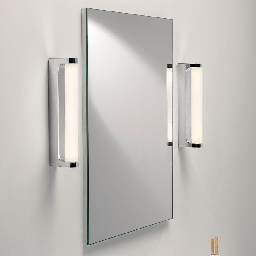 The Astro Lighting Avola 0962 Led Bathroom Wall Light Is An Energy Saving Polished Chrome Led Wall L Avec Images Deco Salle De Bain Interieur Led Eclairage Mural