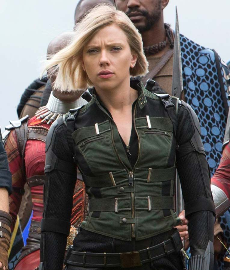 Black Widow Infinity War Vest (Free T- Shirt)   Black widow marvel ...