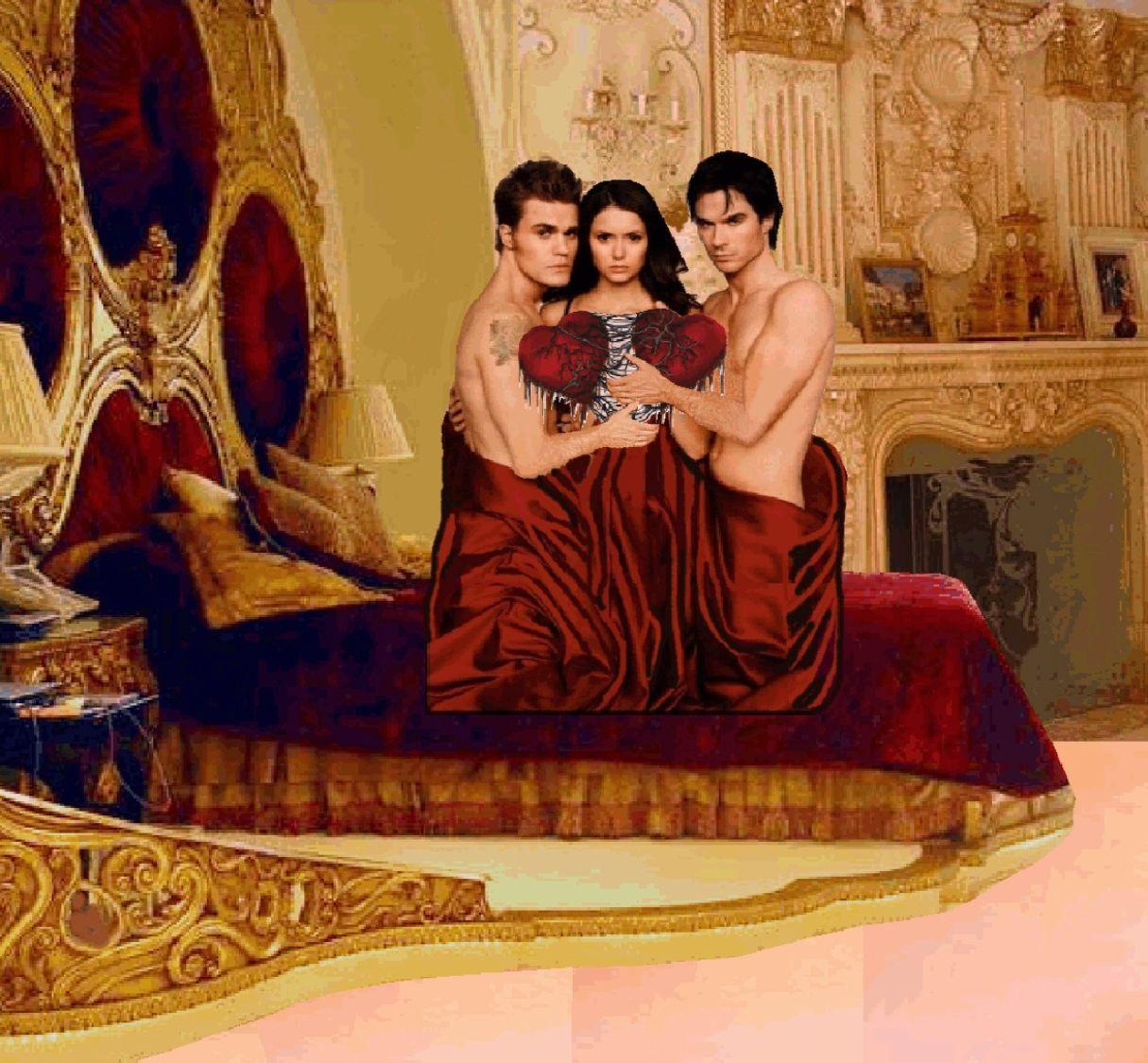 Elena Damon Vampire Diaries Hookup Real Life