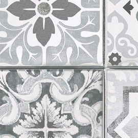 papier peint imitation carreaux de