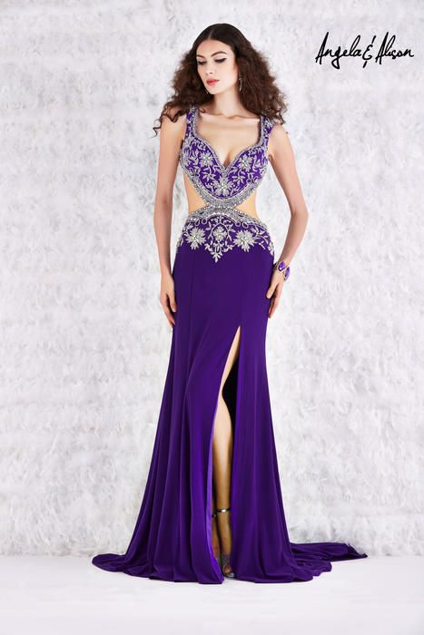 Long dresses at the Prom Store Angela and Alison Long Prom 61083 ...