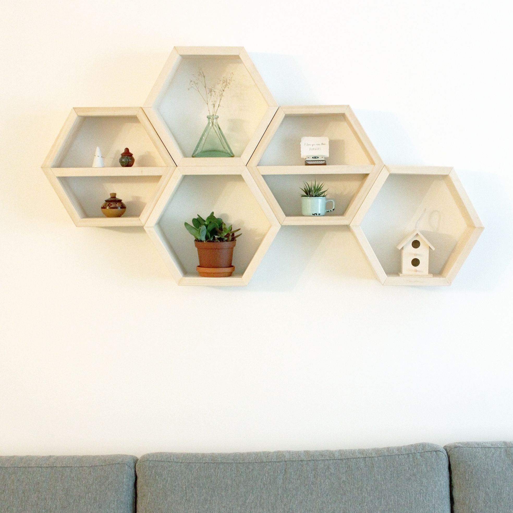 Discover Ideas About Honeycomb Shelves