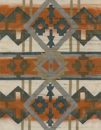 Indiaans-Amerikaanse invloed (decoratieve kunst) Canvas bij AllPosters.nl