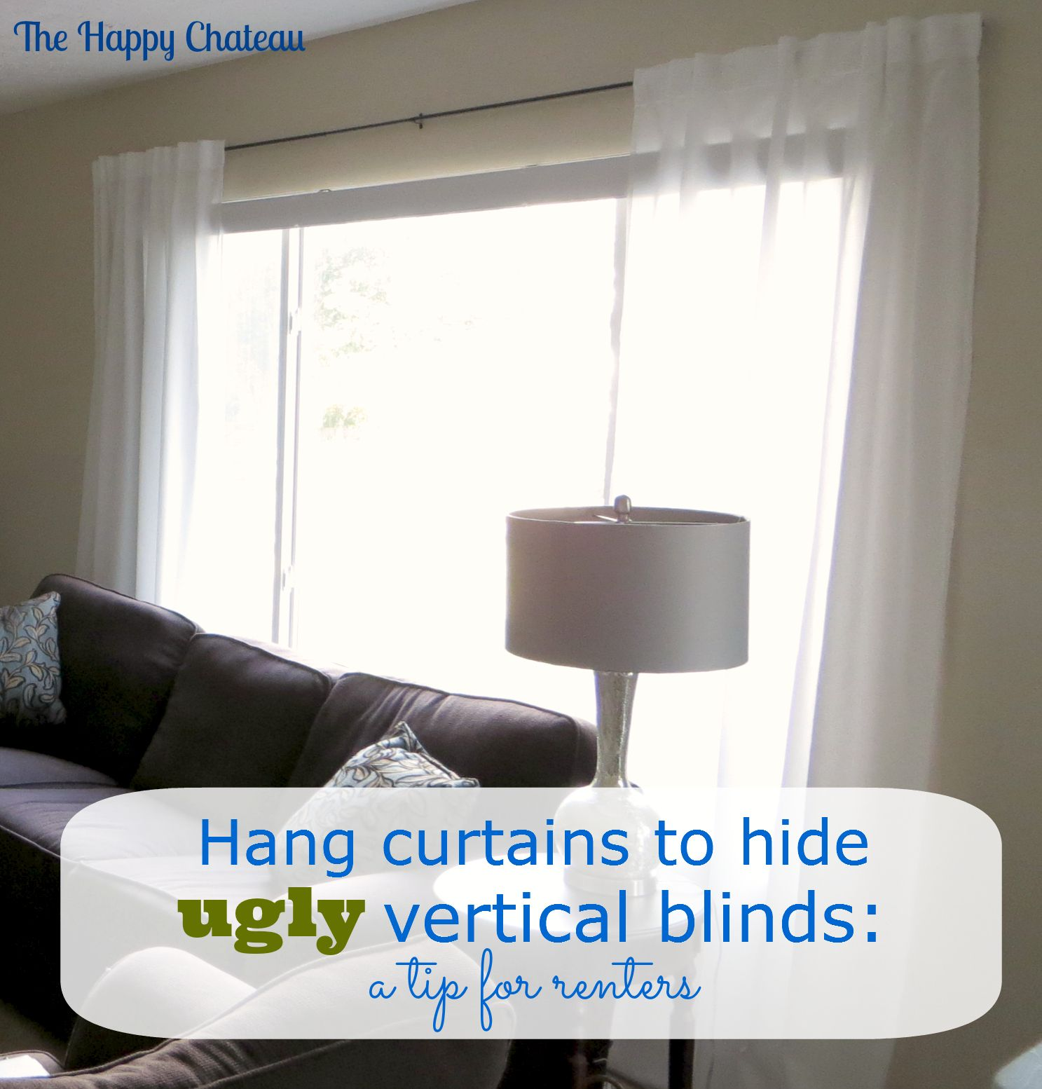 youtube to diy improvements rod home install curtain watch hanging over blinds curtains how