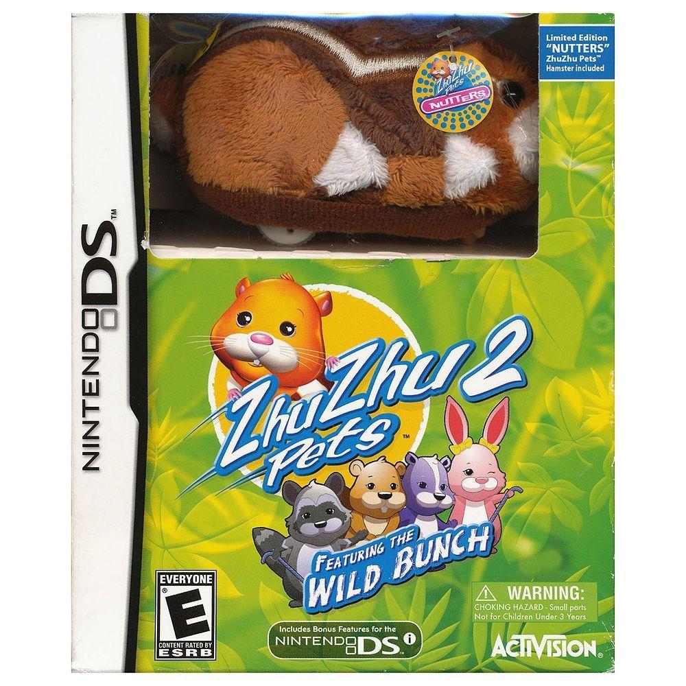 ZhuZhu Pets 2 Wild Bunch for Nintendo DS Nintendo ds