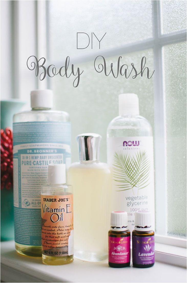 Diy Natural Body Wash Recipe