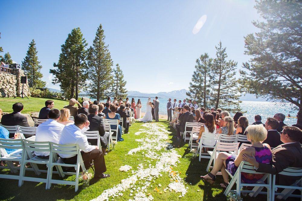 Lake Tahoe Wedding Venue Lake Front Weddings At Edgewood Tahoe Tahoe Wedding Venue Lake Tahoe Weddings Lake Tahoe Wedding Venues