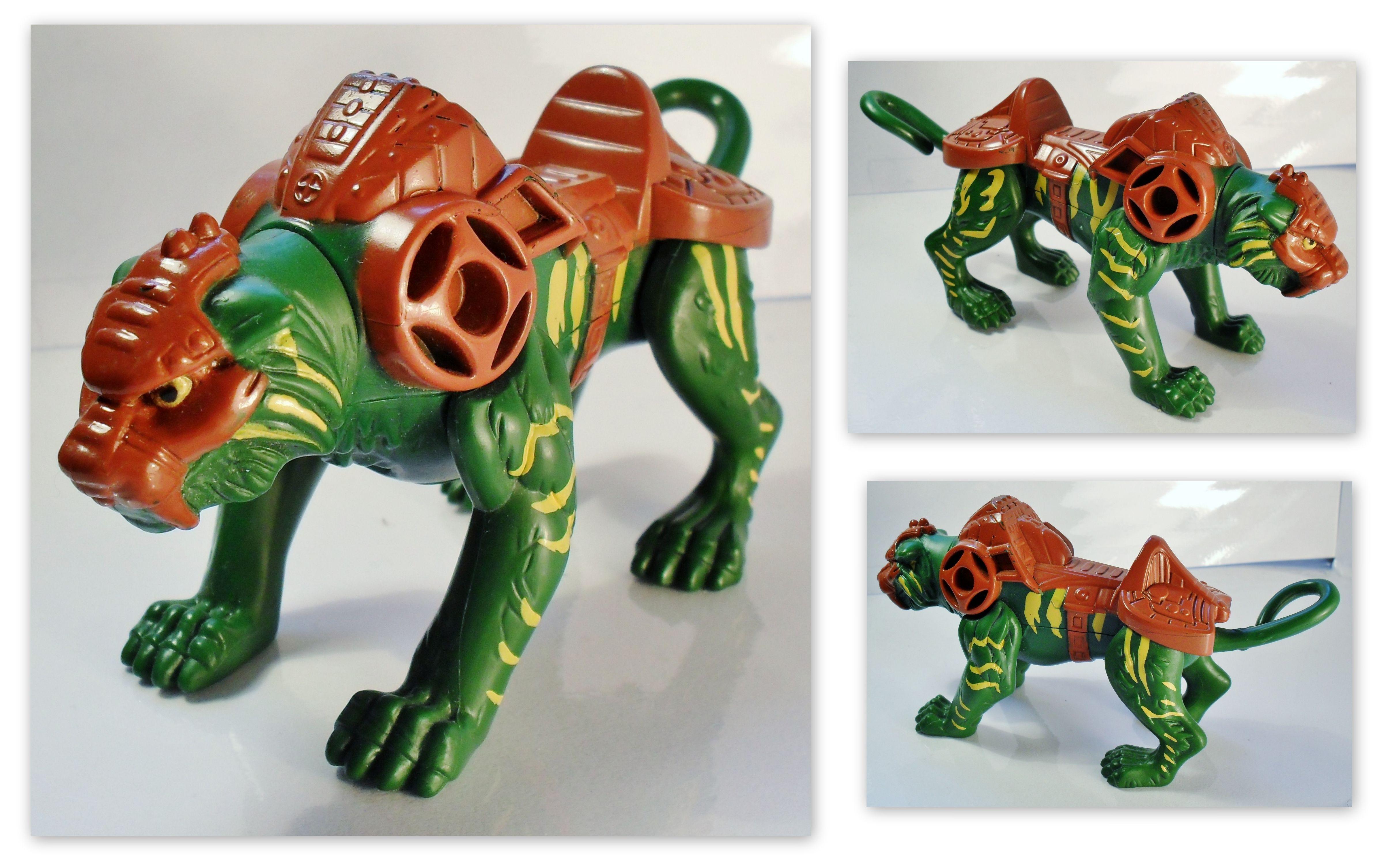 he man 2003 toys HeMan Battle Cat Action Figure 7cm