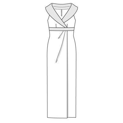 dress 109 (plate) - 12/2008 - Le soir Sobres ou glamour, dix robes du soir pour grandes occasions burdafashion.com