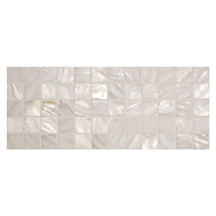Complete Tile Collection Natural Shell 1 Square Mosaic Color Fresh Water Polished Mi 268 N2 400 815 These Shell Mosaic Shell Mosaic Mosaic Fenton House