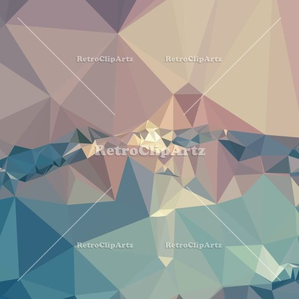 Opera Mauve Abstract Low Polygon Background Vector Stock Illustration. Low polygon style illustration of opera mauve abstract geometric background. #LowPolygon  #OperaMauveAbstract