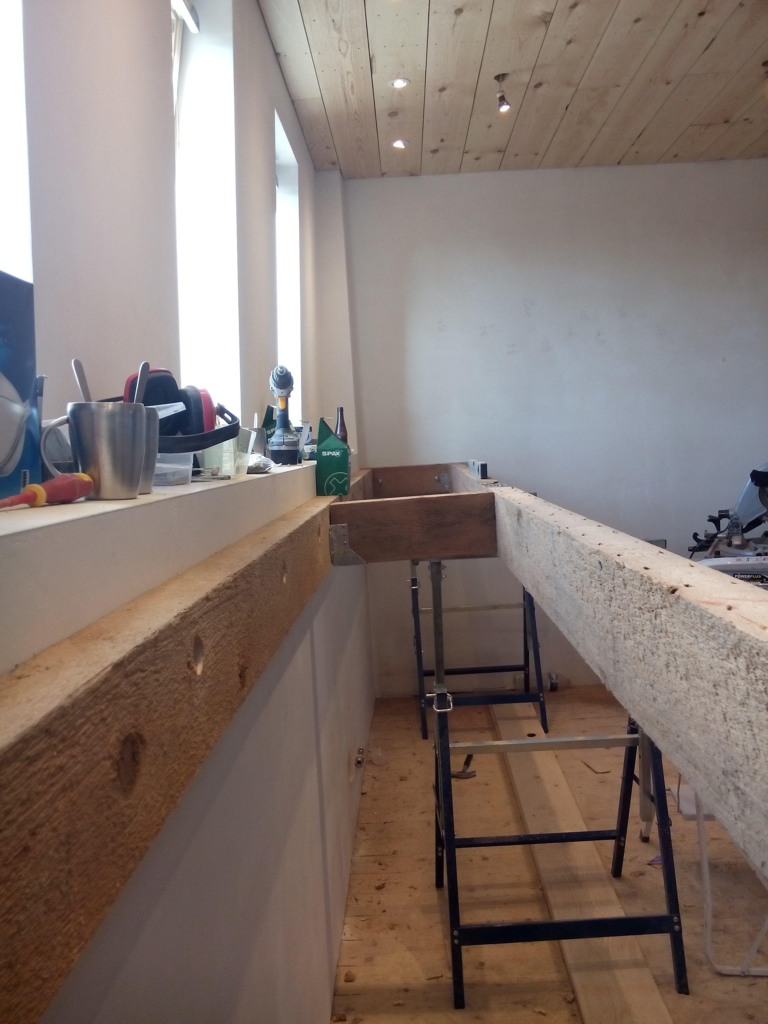 Fototutorial zwevend bureau gerhilde maakt desks for Bureau 2 meter