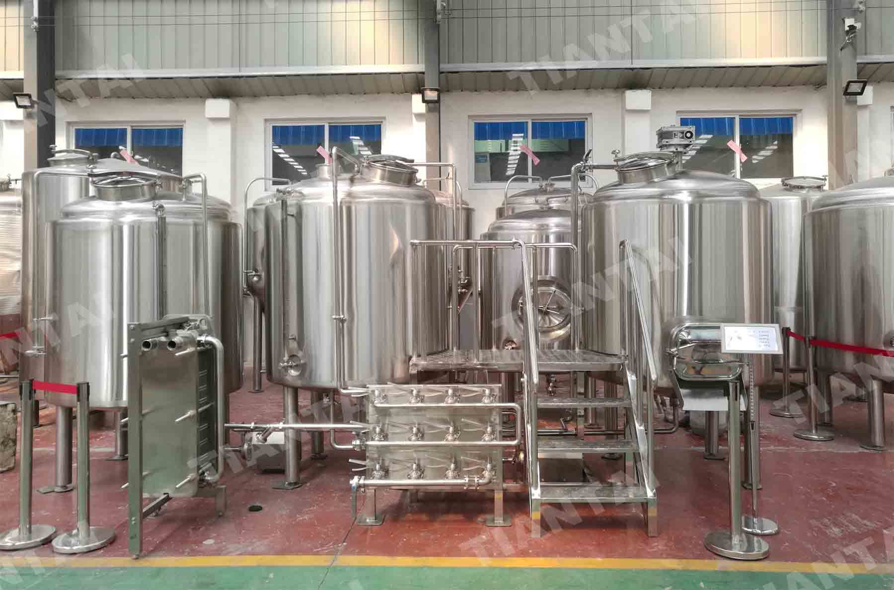 Complete 10bbl Stainless Steel Brewing Beer Equipment Finished Production Caldeiraria