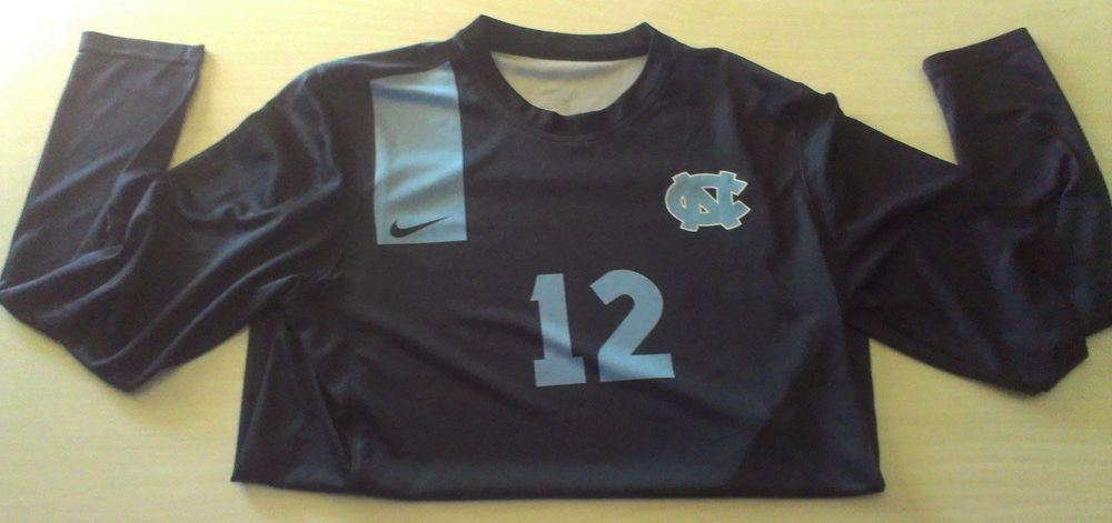 North Carolina Tar Heels - NCAA NIKE  MEN'S #12 LONG SLEEVE #Nike #NorthCarolinaTarHeels