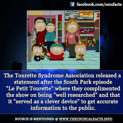 the tourette syndrome association released a statement after the