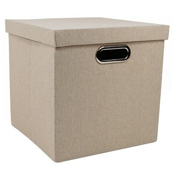 Gamma Stora Opbergdoos Textiel Gebroken Wit 30x30x30 Cm Kopen Opbergboxen Dozen In 2020 Opbergdoos Opbergbox Gebroken Wit